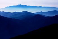 Blue Mountain 2130 107X160cm, Archival P