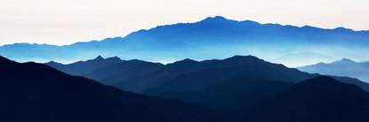 Blue Mountain 2110 50x150cm, Archival Pi