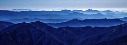 Blue Mountain 2102 107x300cm, Archival P
