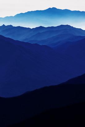 Blue Mountain 2147 160X107cm, Archival P