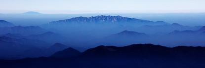 Blue Mountain 2112 50x150cm, Archival Pi