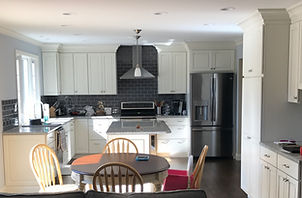 Classic Off White Cabinets