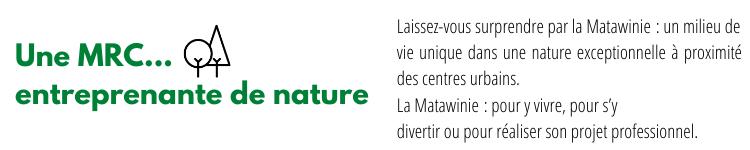 MRC Matawinie pour y vivre s'y divertir et réaliser son projet professionnel SDLR Matawinie