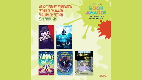 Book Awards: junior fiction finalists
