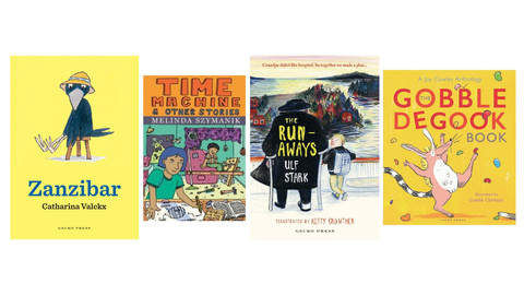 Book Reviews: Lively New Books for Young Readers