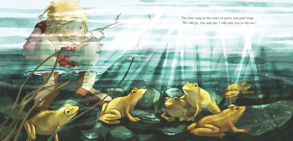spread from song of the river