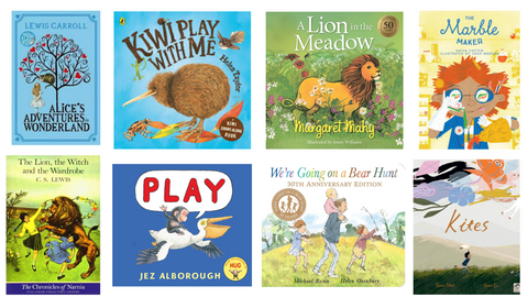 Book List: Books that feature play