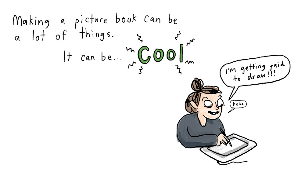 making a picture book can be cool