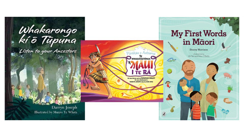 Book Reviews: New Children's Titles in Te Reo