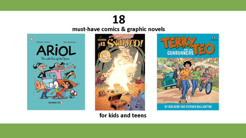 Book List: Comic Books for Kids and Teens