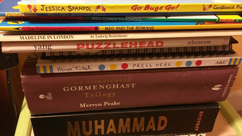 Jo Randerson: The Books My Kids Are Reading