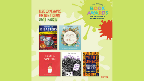 Book Awards: The Elsie Locke Non-Fiction Finalists