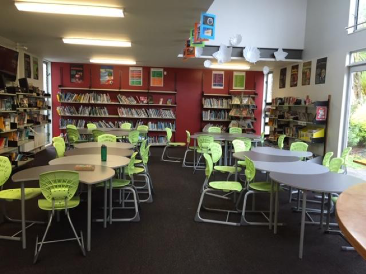 interior kowhai library