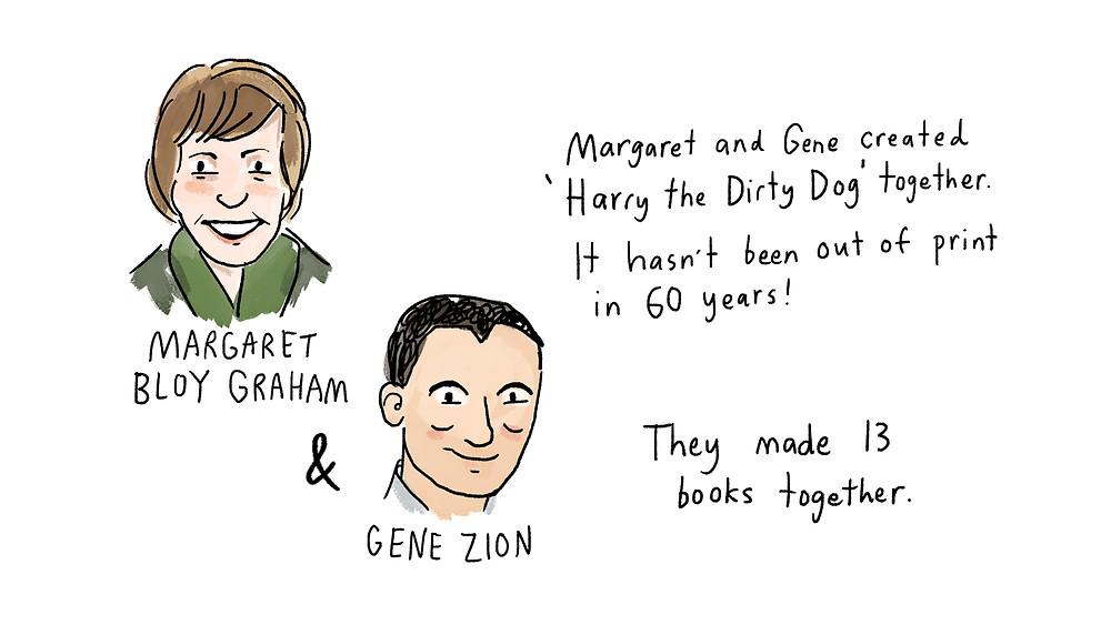 margaret bloy graham and gene zion