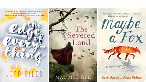 Three fantasy novels for teens and pre-teens