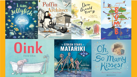 2018 End-of-Year Shopping List: NZ Picture Books