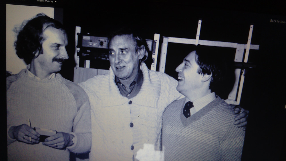 ed welch, spike milligan and unknown man