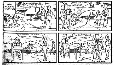 Early New Zealand Comics for Children