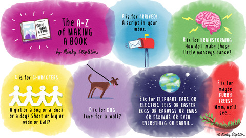 Minky Stapleton's A-Z of Making a Book