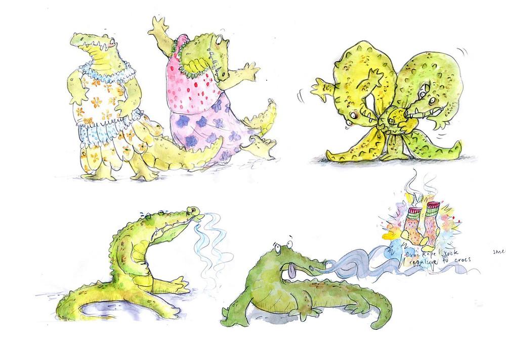crocs in frocks