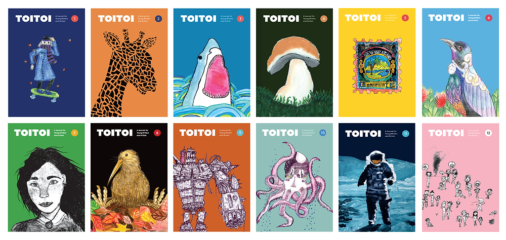 twelve covers of toitoi