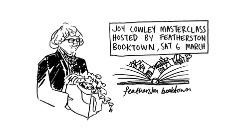 Tara Black attends Joy Cowley's masterclass