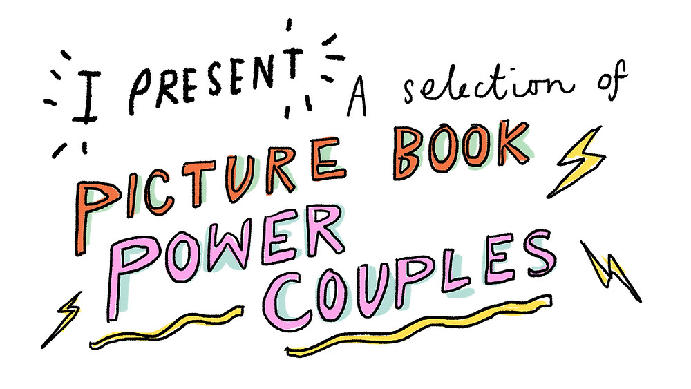 a selection of picture book power couples