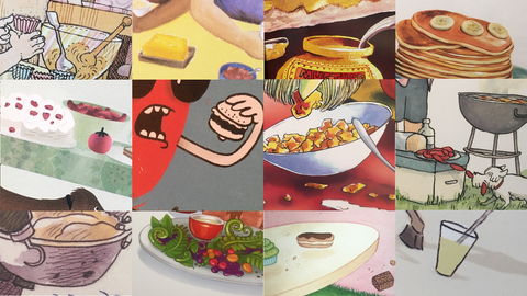 Book Quiz: Food in New Zealand Picture Books