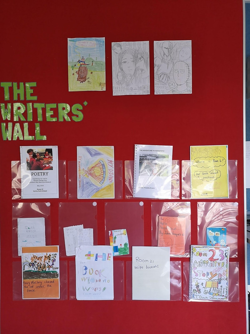 the writers' wall