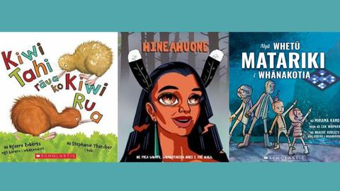 Book Reviews: Three new books in te reo Maori