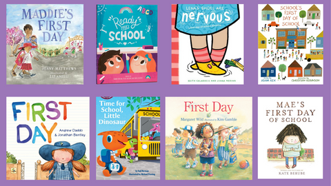 Book List: Starting School
