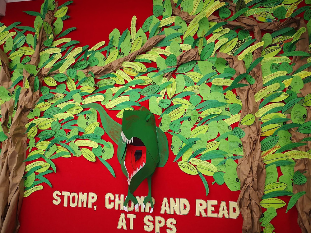 stomp chomp and read at SPS