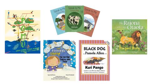 Book Reviews: Te Reo & Trilingual Picture Books