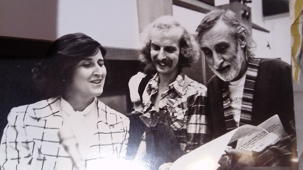 ed welch in middle, spike milligan to left