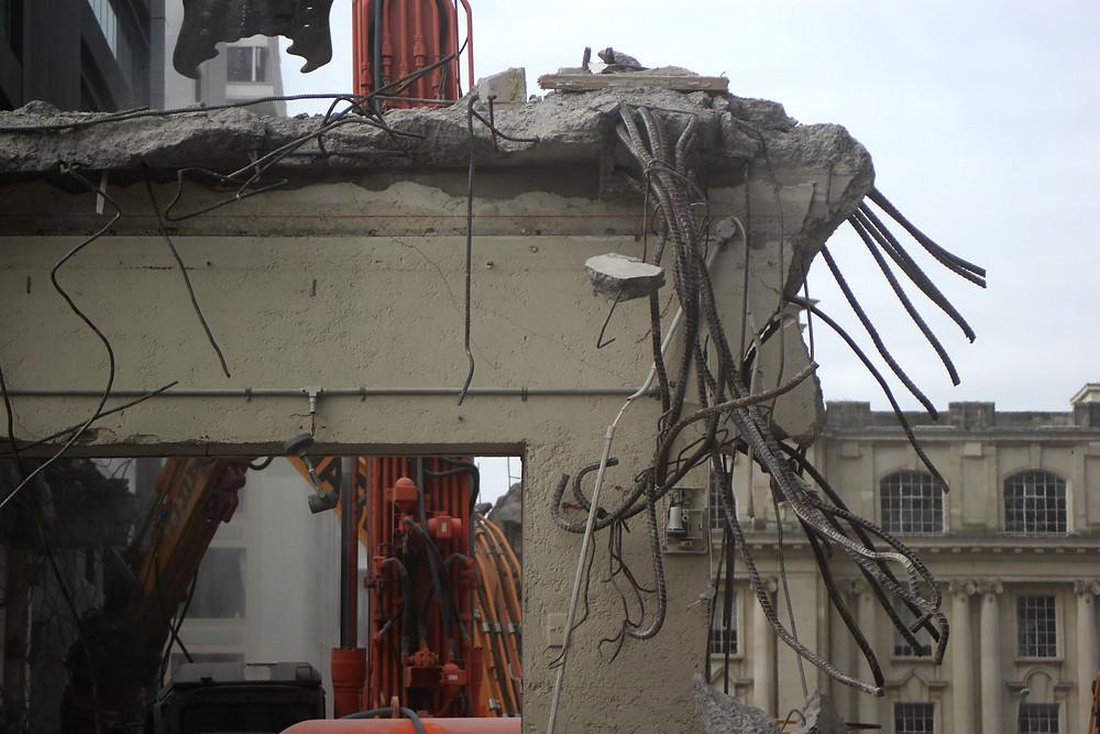 broken building , Auckland CD