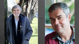 Co-interview: James Norcliffe & Bernard Beckett