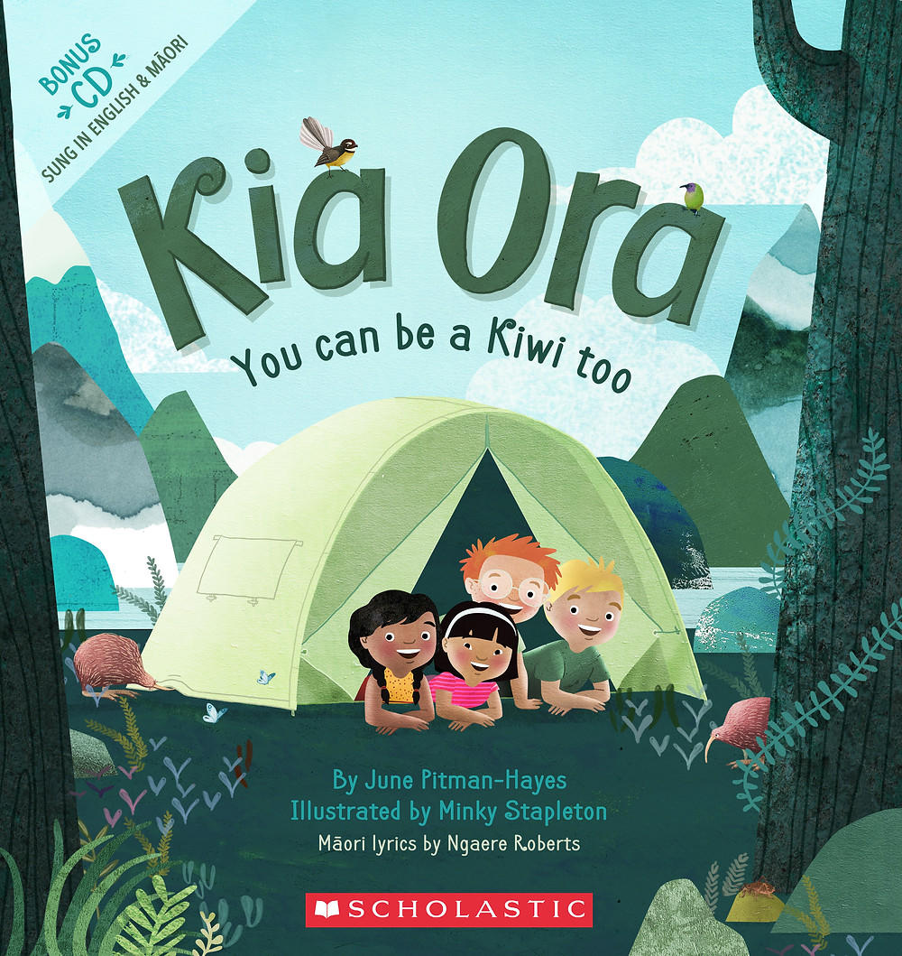 kia ora youc can be a kiwi too