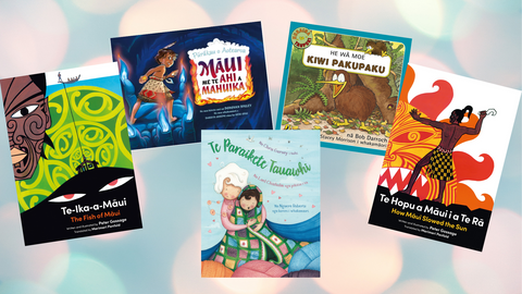 Book Reviews: Te Reo Maaori Picture Books
