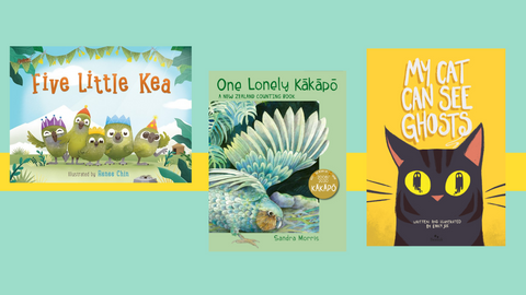 Book Reviews: The Latest in Aotearoa Picture books