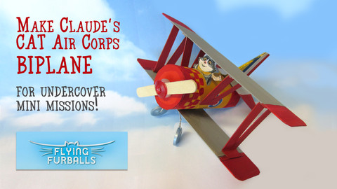 Crafts with Fifi: Flying Furballs Bi-Plane