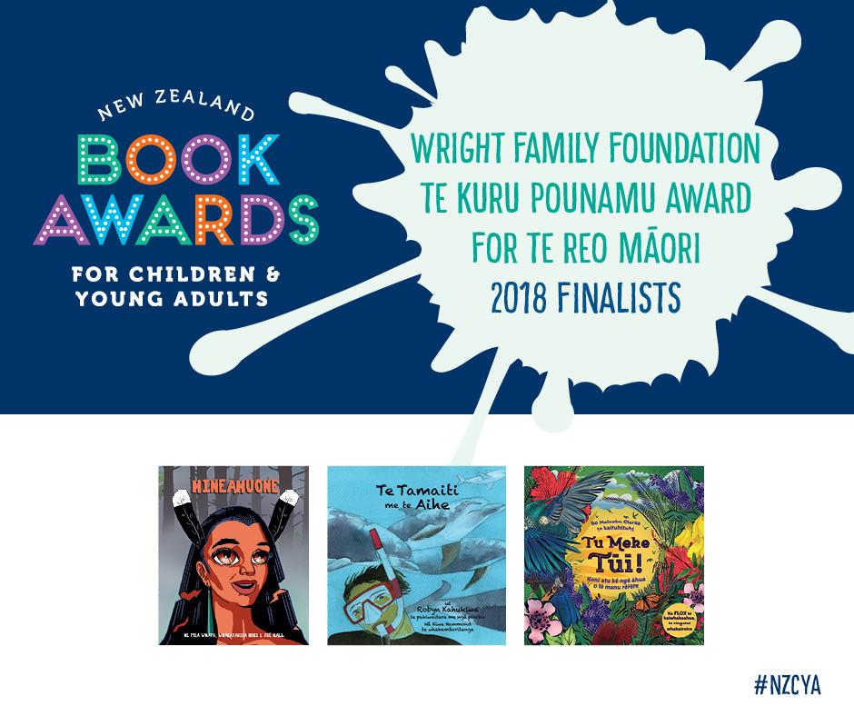 wright family foundation te kuru pounamu award for te reo maori
