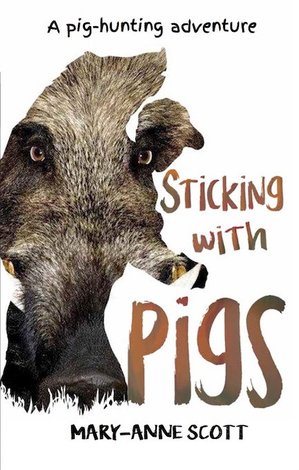 cover of sticking with pigs