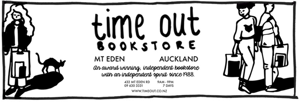Ad for Time Out Bookstore