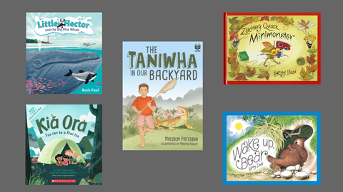Book Reviews: Five Fresh Kiwi Picture Books