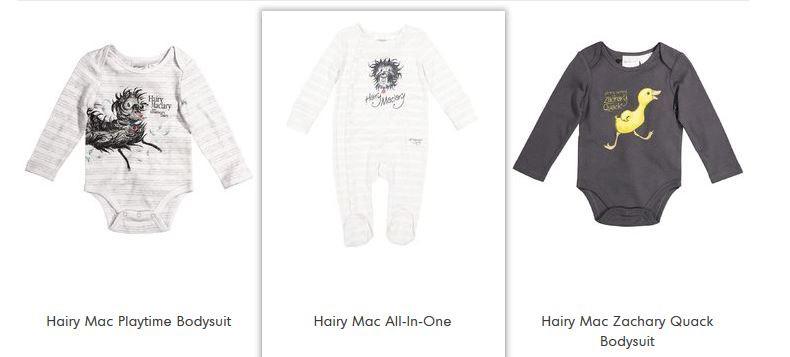 hairy maclary clothes