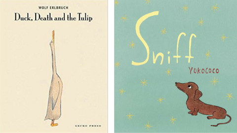 Book List: Picture Books about Death and Grief