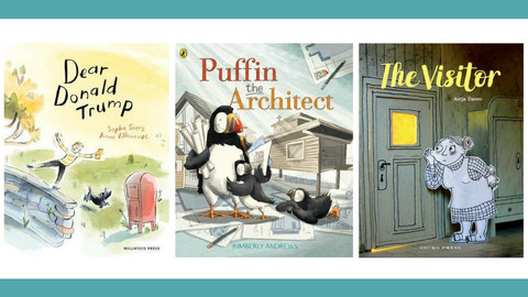 A Range of New Picture Books from Aotearoa