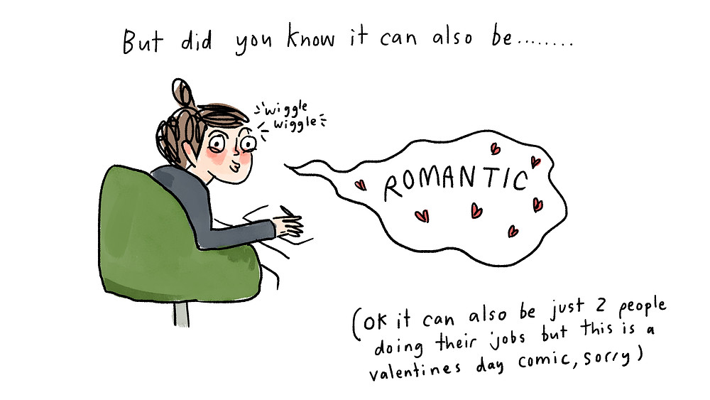 did you know it can be romantic