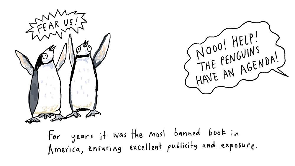 penguins have an agenda