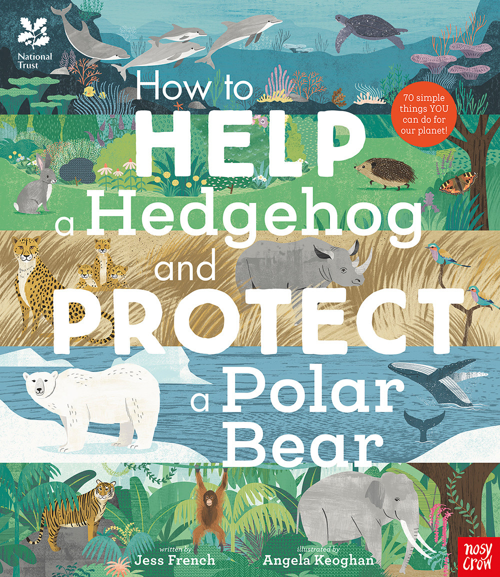 how to heldp ahedgehog and protect a polar bear